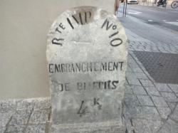 borne Ier Empire à Biarritz No 10
